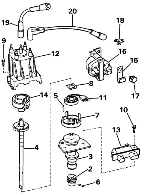 ignition wiring diagram for 3 0 mercruiser get free