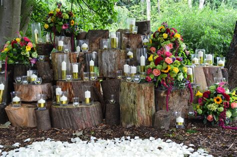forest themed wedding reception d 233 cor ideas weddceremony