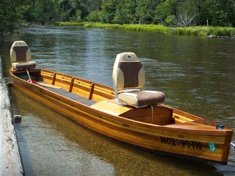 sportsman boats construction ausable river boat build part 2 the michigan sportsman