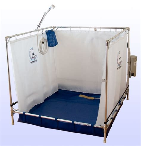 portable cing shower stall portable shower stall fawssit b5000 bariatric