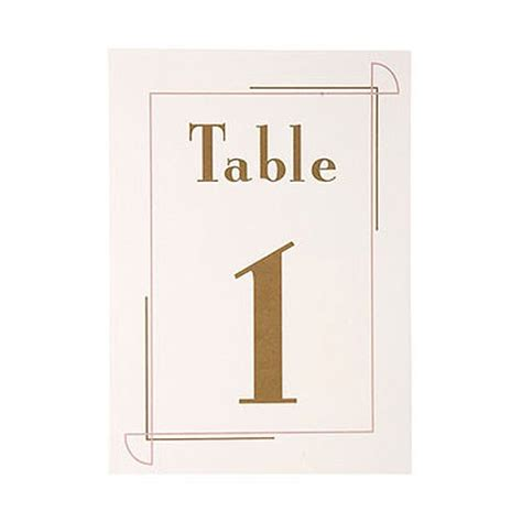 cards on the table series 15 deco border table number cards 1 15 confetti co uk