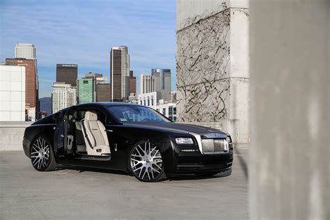 roll royce wraith on rims rolls royce wraith on monoblock wheels