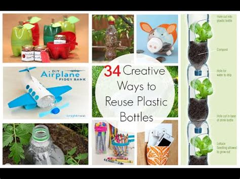 34 creative ways to reuse waste plastic bottles