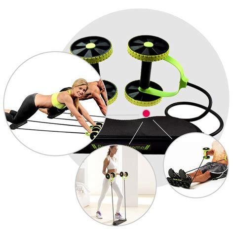 Alat Fitness Ab Doer Pelangsing Perut alat fitness multifungsi ab wheel revoflex xtreme rally black jakartanotebook
