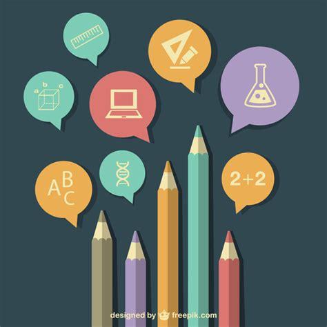 education poster design vector free download infograf 237 a de educaci 243 n en formato vector descargar