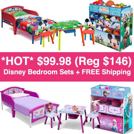 bedroom sets free shipping 99 98 reg 146 disney 3 piece bedroom sets free shipping