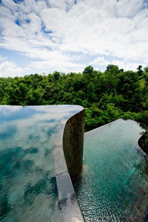 bali infinity pool beautiful ubud hanging gardens in bali indonesia i like