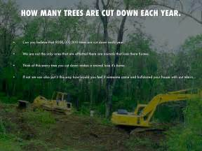 How Many Trees Are Cut To Make Paper - earth day project by 144002401