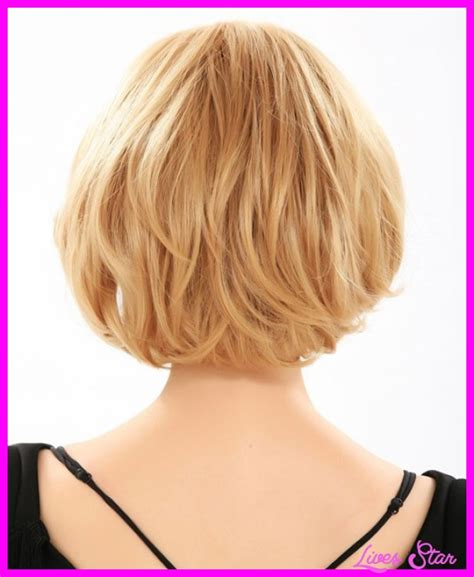 hairstyles back view medium bob haircuts back view livesstar