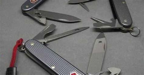 Swiss Army One Shade victorinox alox grey pocket knives