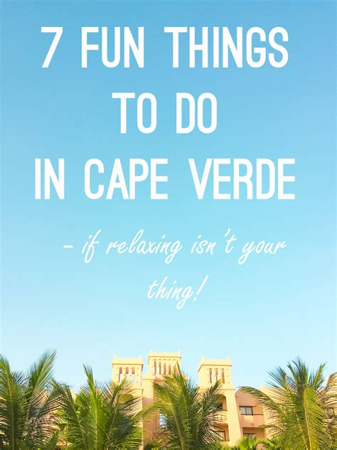 7 Interesting Things To Do In A Traffic Jam by 7 Things To Do In Cape Verde Bespoke Wedding