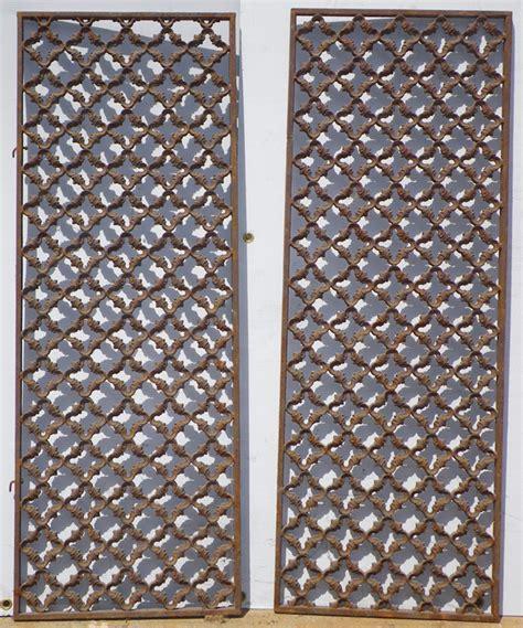 fabrication de porte d entree avec grilles anciennes