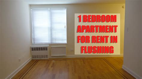 bedroom apartment  rent  flushing queens nyc youtube