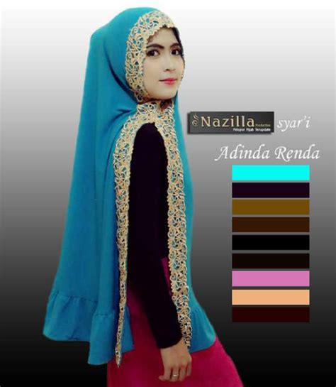 Harga Khimar jual harga jilbab kerudung khimar adinda renda zero2fifty