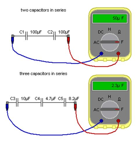 capacitor battery in series matrix electronic circuits and components capacitors capacitors in series