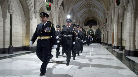 mounties poised to take of security inside