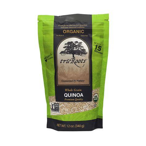 whole grain quinoa gluten free truroots organic whole grain quinoa thrive market