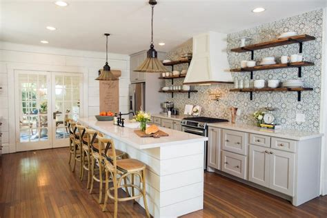 fixer upper modern farmhouse white kitchen ideas