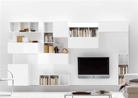 tempo wall unit modern wall units contemporary - Modern Tv Wall Units Uk