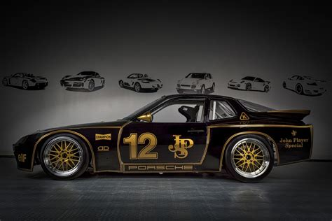 john player special livery motor werks racing porsche 924 gtp john player special