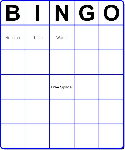 make your own bingo cards template create your own bingo cards with pictures for free best