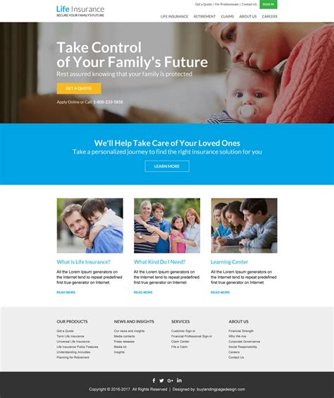 Life Insurance Quote Resp Templates 002 Life Insurance Responsive Website Template Preview Insurance Responsive Website Template Free