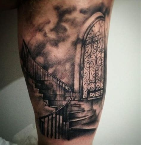 staircase tattoo heaven tattoos designs ideas and meaning tattoos for you