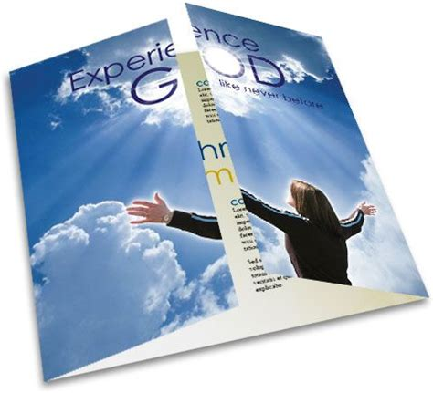 free indesign brochure templates for christian church and