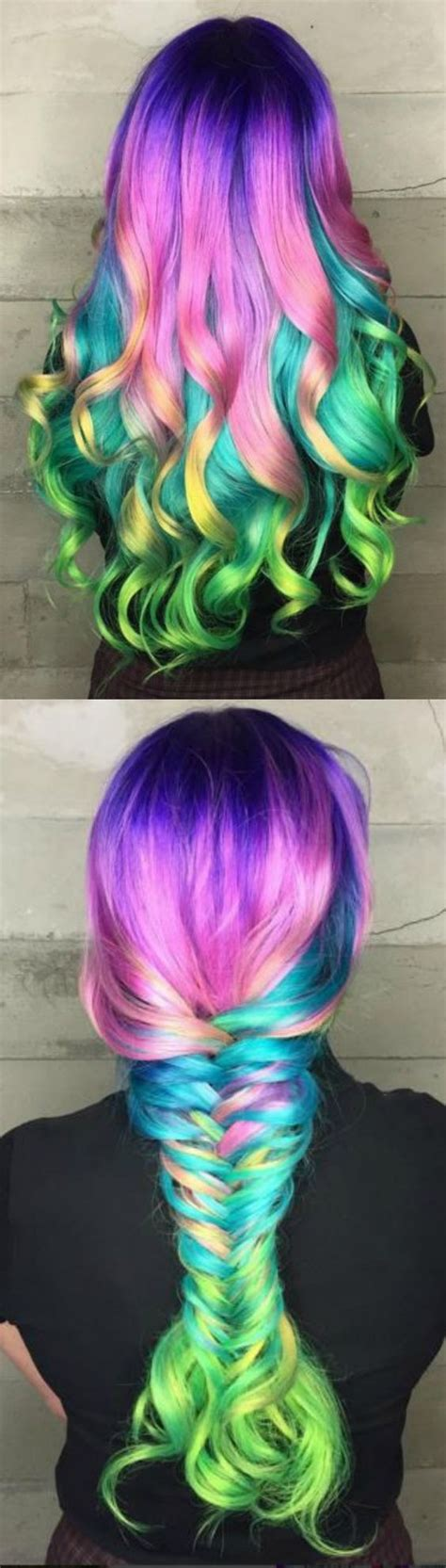 mermaid colored hair pictures photos and images for