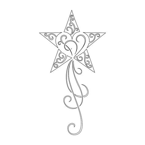 falling star tattoo designs 21 best moon with falling images on