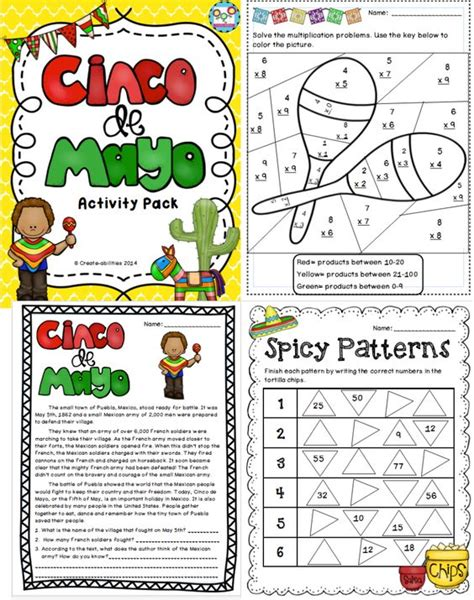 Activities The O Jays And - cinco de mayo activities and printables activities the