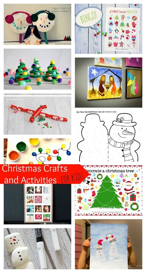 christmas crafts and activities for kids life sew savory