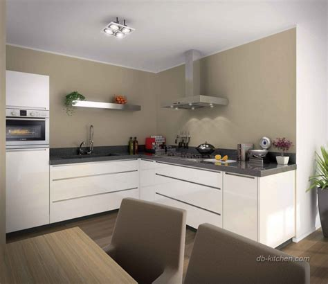 Lacquer Kitchen Cabinets by Glossy White Lacquer Kitchen Cabinet Designed By Jisheng