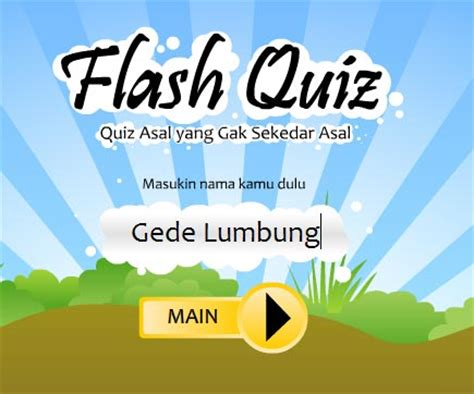 cara membuat game quiz di flash tutorial flash membuat game quiz sederhana dengan flash