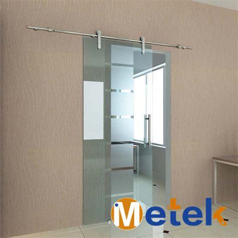 Online Buy Wholesale Stainless Steel Sliding Door Track Sliding Glass Barn Door Hardware