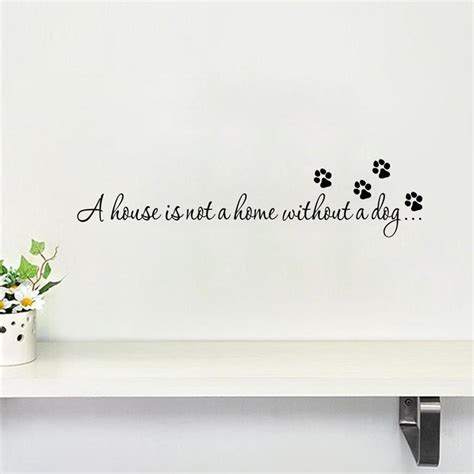 Wall Decor Stickers Online Shopping aliexpress com buy warm dog quote home pet store