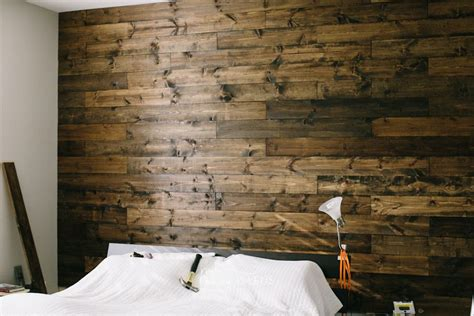 wooden wall bedroom diy wooden bedroom accent wall i love this and plan to