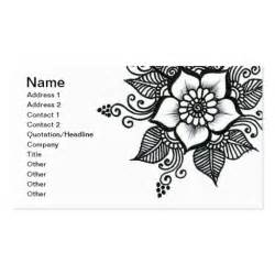henna business cards henna 124 business card zazzle