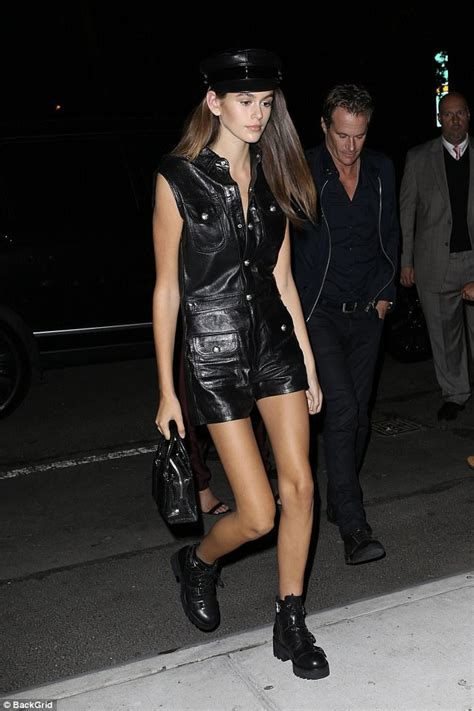 kaia gerber walking the runway cindy crawford celebrates with daughter kaia at nyfw party