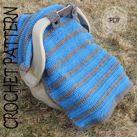 baby car seat blanket crochet pattern crochet pattern simply sweet car seat canopy blanket