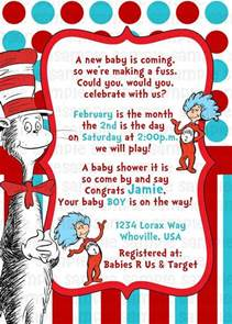 dr seuss cat in the hat baby shower invitation by pinkturtleshop 11 00 grace s baby shower