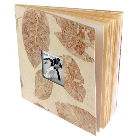 Handmade Paper Photo Albums - tree free wedding photo album book 5x7 6x8 large