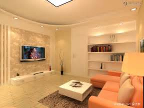 Simple Living Room With Tv » Home Design 2017