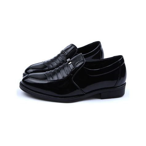 Comfortable Leather by Mens Real Leather Comfortable Cusion Insole Black Winkle