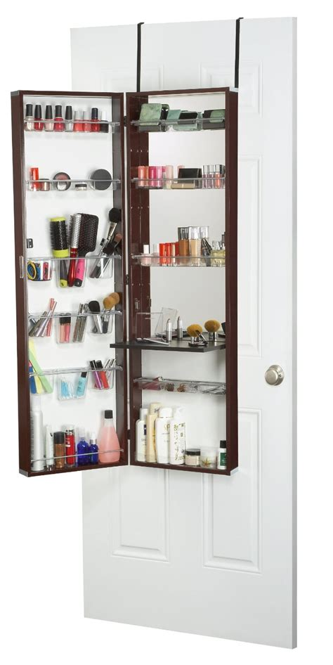 Hanging Door Organizer by The Door Hanging Makeup Organizer Mycosmeticorganizer