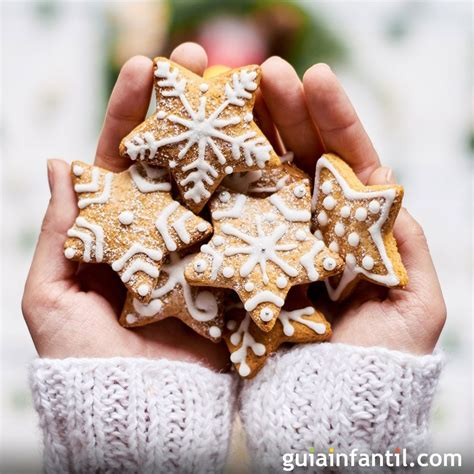 galletas de navidad decoradas receta para ni 241 os - Decorar Galletas Paso A Paso