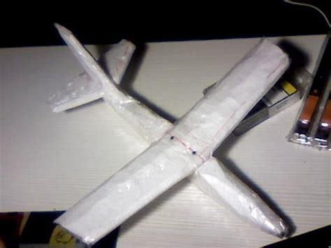 Avione Foam como hacer un avi 243 n con corcho blanco 1 de 6