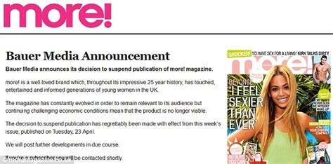 challenging position means as racy mag more closes this week in its 25th year