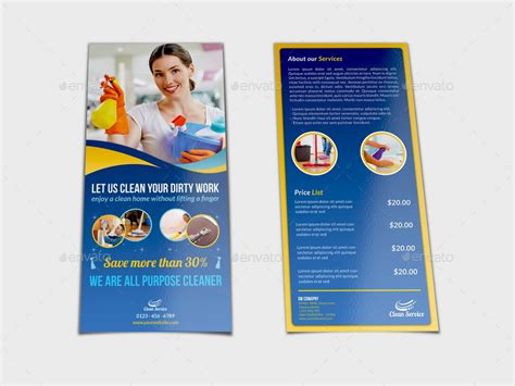 cleaning services advertising templates cleaning services dl flyer template by owpictures