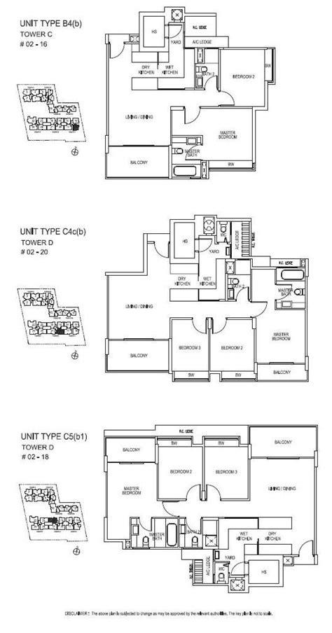 The Sound Floor Plan the sound east coast road hdb condominium property